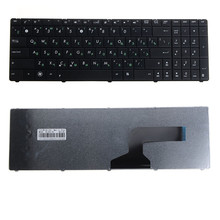 Notebook Computer Replacements Keyboards Fit For ASUS N53 English Russian Standard Laptops Replacements Keyboards VCZ11 T0.25