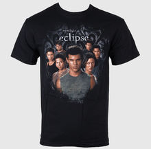 Herren T-Shirt Twilight - Eclipse - Wolf Pack Circle - LIVE NATION - S(China)
