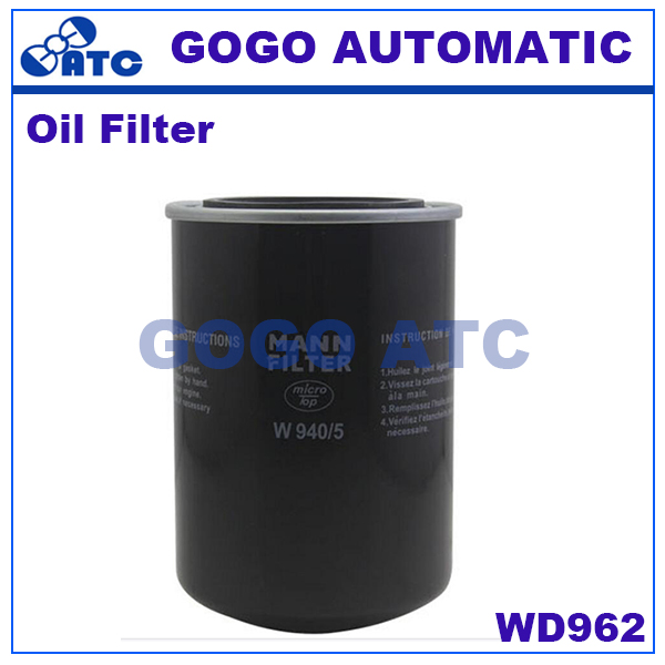 High quality oil filter WD962 Screw air compressor oil filter air compressor(China (Mainland))