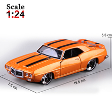Maisto 1968 Chevrolet Camaro 1 1:24 Alloy Car Model Toys Diecasts & Toy Vehicles Collection Kids Toys Gift