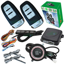 passive keyless entry&push button stop start system smart key identification recognized  remote start stop engine