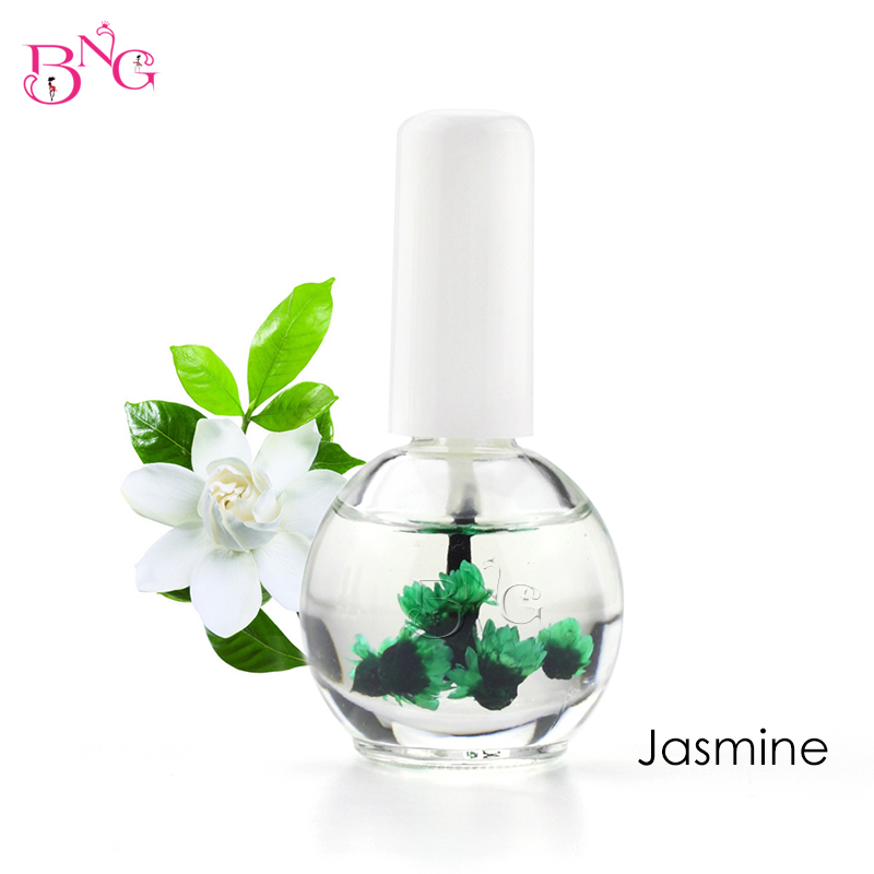 BNG 1pc 14ml Dry Flower Nourishment Oil Nail Cuticle Processing Tools Nutritional Nail Oil UV Gel Nail Treatment Lacquer 13