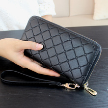 2017 High Quality Female Wallet Women Purse Luxury Brand Long Wallet Day Clutch Change Coin Card Bag Female Clutch Carteras