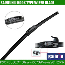 "RAINFUN JH001 28""+26""R dedicated car wiper blade for PEUGEOT 307(01-04)/Peugeot 307SW(02-04)"