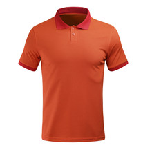 2017 New Sport Lapel Polos Men Polo Shirts Short Sleeve Soccer jerseys T-Shirt Running Tennis Golf Shirts 100% Cotton Breathable