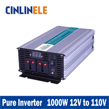 Smart Series Pure Sine Wave Inverter 1000W CLP1000A-121 DC 12V to AC 110V 1000W Surge Power 2000W Power Inverter 12V 110V