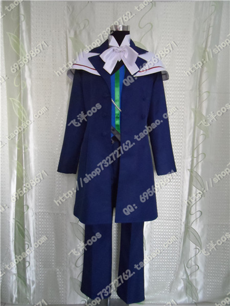 Free shipping anime Devils and Realist William  cosplay costume