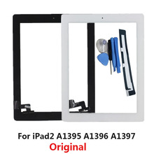 KEFU Original Tablet Touch Screen for ipad2 For iPad 2 A1395 A1396 A1397 Digitizer 9.7 inch Glass Panel with Button + Tools(China)