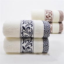 34*74cm Embroidered Cotton Terry Hand Towels for Adults,Decorative Face Bathroom Hand Towels,Soft Hand Towels,Toallas de Mano