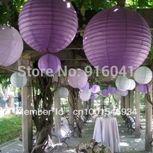 10pcs/Lot DIY- 8 inch Chinese Paper Lantern Wedding Birthday Party Celebration Decoration Event Gift Art FestivalFree Shipping