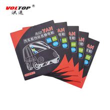 VOLTOP Annual Post Car Sticker AUTO Window Signal Clear Cling Static Film inspection stickers Tax Disc Holders windshield(China)