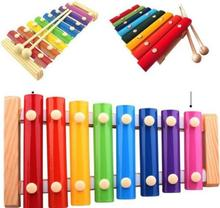 Baby toy piano baby hand knock Percussion 8 Note small Musical Instruments good gift for kids
