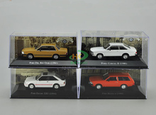IXO 1:43 Ford CORCEL XR3 DEL Metal car models Diecast vehicle Toys Collect Or Gift toys