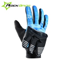 RockBros Glove 2 Modes Bike Bicycle Winter Waterproof Touch Screen Fleece Warm Gloves Windproof Cover Professional Cycling Glove
