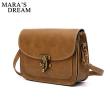 Mara's Dream Mini Bags Women Messenger Bags Women Crossbody Bag Woman Handbags PU Leather Cross Body Female Girls Cluth Bag(China)