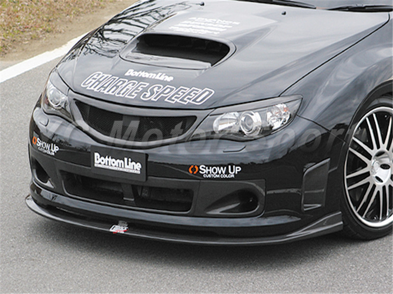 2008-2012 Subaru Impreza GRB WRX STI Charge Speed Style Front Grille CF (10)