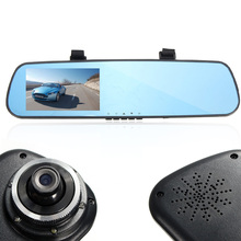 Brand New 4.3 Inch HD 1080P Dash Cam Video Recorder Rearview Mirror Car Camera Vehicle DVR