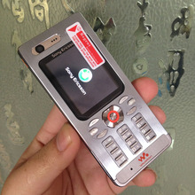 Original Sony Ericsson w880 w880i Cell Phones Unlocked w880 Mobile Phone 3G Bluetooth MP3 Player & One Year warranty(China)