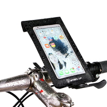 Buy Quick Release Waterproof Cycling Bike Bicycle Bag MTB Mountain Road Bike Cycling Mobile Phone Holder Bag Case Touch Screen for $9.58 in AliExpress store