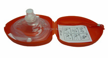1 Piece CPR Resuscitator Rescue Masks Mouth To Mouth With One-way Valve For First Aid Training Medical Science