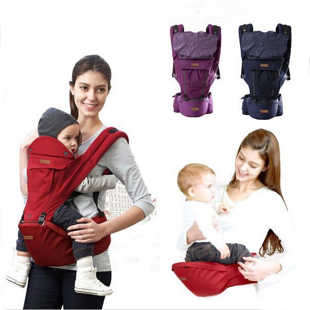 2 in 1 ergonomic baby carrier Baby backpack Toddler canvas wrap bag Babies suspenders  Infant sling kangaroo Baby mochilas<br><br>Aliexpress