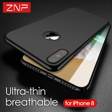Buy ZNP Luxury Hard PC Back Cover case iphone X Ultra Thin Plastic Shockproof Full Cover Cases iphone X case Capa Coque for $3.18 in AliExpress store
