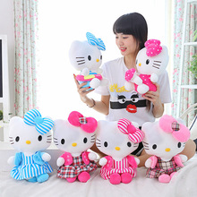 Hello Kitty cat colorful plush toy children birthday Christmas gift stuffed baby toys