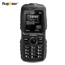 waterproof phone rugged cell phone - RugGear RG100 Unlocked military cell phone(China)