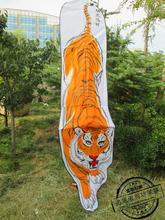 single line craft brinquedos fun kites jouet weifang kite bar volante 3m large tiger kite flying toy kitesurf soft kites animal(China)