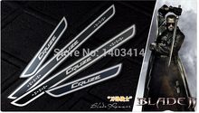 dor sill for  Cruze etching process   antioxidant black slim design  STYLE from GM 's North American 4pcs/set