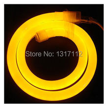 Wholesale 110v and 220v white led neon flex with color jacket IP67 warm white led neon flex strip