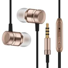 Clarity Stereo Sound piston earphone Metal Headset WS003 with mic for iPhone 6 5s xiaomi samsung huawei oppo sony LG phone MP3