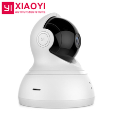 "720P HD Xiaomi YI Dome IP Home Camera+32G Card 112"" 360 Degree PTZ Smart WiFi Webcam Night Vision [International Edition]"