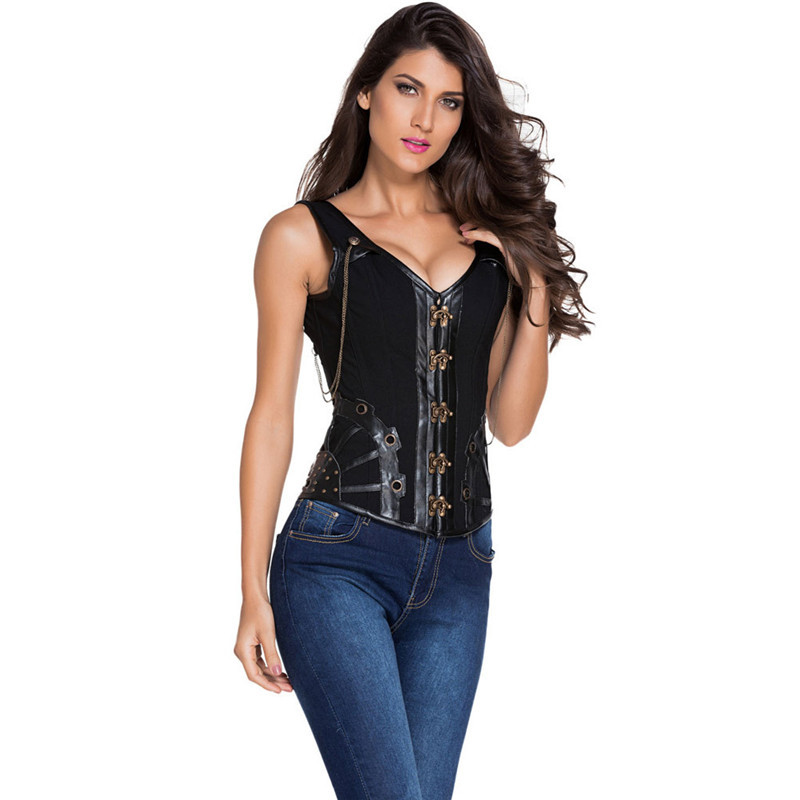 black steampunk corset (10)
