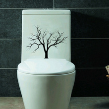 Gothic Nature Tree Branches Fashion Vinyl Wall Decal Toilet Sticker 6WS0019