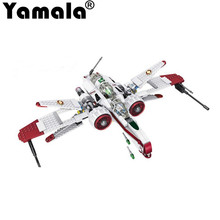 2017 [Yamala] Star Wars Arc-170 Starfighter Assemble Clone Building Blocks Starwars Toys Children Compatible Legoe - Yamala Toy Store store