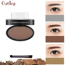 Beauty Girl Amazing Brow Stamp Powder Delicated Natural Perfect Enhancer Straight United Eyebrow F21X18