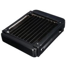 G1/4 90mm Aluminum Heat Exchanger Computer Radiator Water Cooling Cooler For CPU GPU VGA RAM Laser Cooling Cooler Heatsink(China)