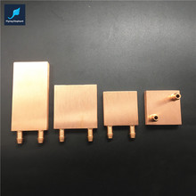 PC CPU GPU Northbridge Waterblock Pure Copper Universal For Intel & AMD & MCU 40*40*10/40*80*10/55*55*10