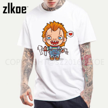 Chucky Devil Baby T Shirt Hip Hop Men 3D Print Fashion High Quality Mens Tshirt Gift T-shirt for Male Short Sleeves(China)