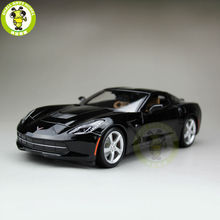 1/18 Chevrolet Corvette C7 Stingray Z51 Diecast Car Model Maisto 31182 Black(China)