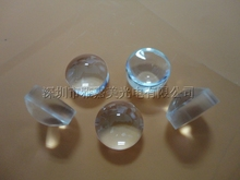 Plastic LED lens Diameter 14.5mm Double convex optical lens,1W 3W Reflector Lens(China)