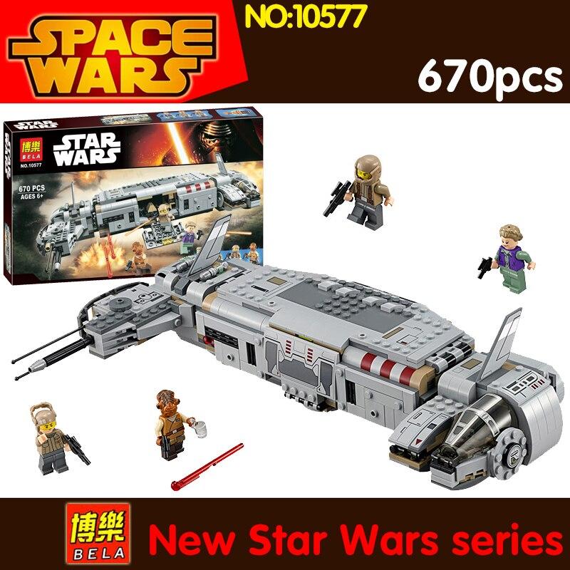 2017 670pcs Star bricks Resistance Troop Transporter 75140 Building Kit Action Character Models Blocks Toys for Children<br>