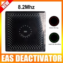 Eas Soft Label Deactivator For RF System 8.2mhz EAS Soft Label Decoder Pre-alarming, with sound and lights