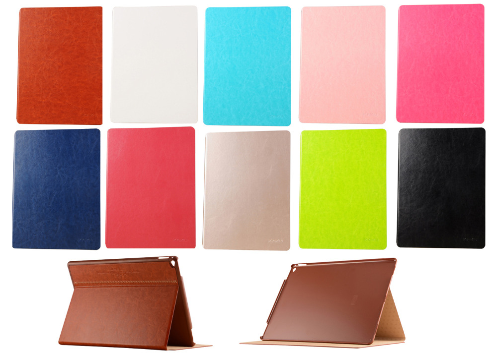 For ipad pro Utra Thin Folding Smart Sleep PU Leather Stand Smart Cover For APPLE iPad Pro 12.9 Protect Tablet PC cover Case<br><br>Aliexpress