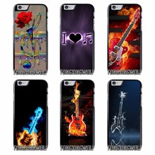 Fire Water Guitar music Cover Case for Samsung A3 A5 A7 2015 2016 2017 Sony Z1 Z2 Z3 Z5 Compact X XA XZ Performance(China)