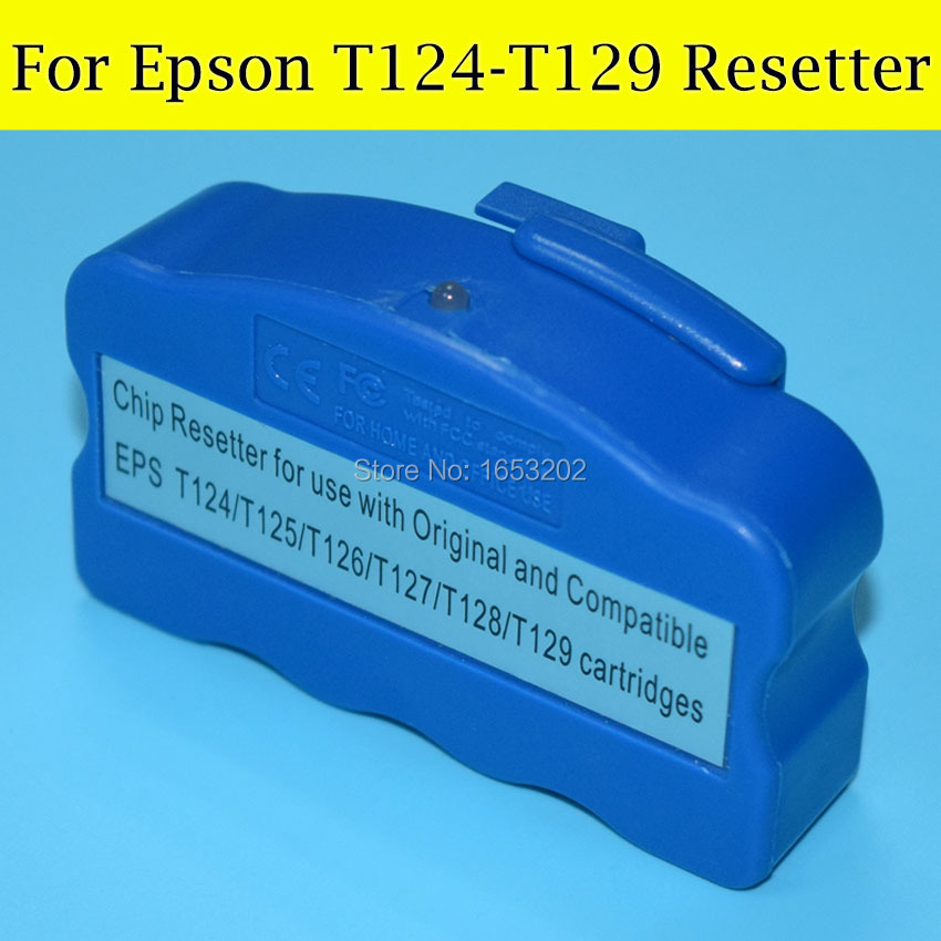 1 Piece Chip Resetter For Epson T1261 T1271 T1281 T1291 Workforce435/545/840/845/645/635/630/633/60 320/323/325/325 Printer<br><br>Aliexpress