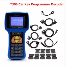 2017 Professional Auto Key Programmer T300 Newest V16.8 T 300 T-CODE English or Spanish Blue/Black Cars T-300 Auto Transponder