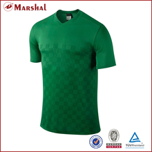 Custom Soccer Jersey tops Short-sleeve Dry fit 100%polyester Top quality Adult V-neck custom personalized team logo number