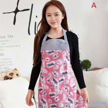 Sleeveless Aprons for Women Cotton Embroidery Chef Waiter Aprons With Pocket Overalls Smock Kitchen Accessories Tools 4 Colors(China)